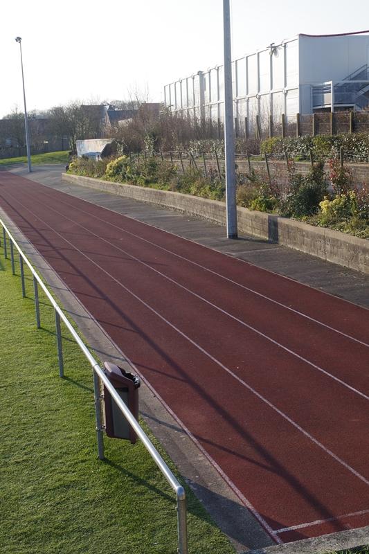 Piste d'athletisme du stade des promenades